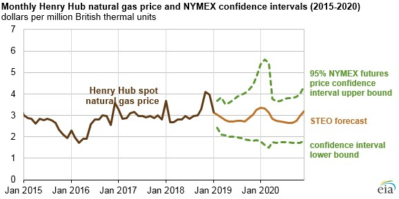 Forecasted Low Natural Gas Prices in the U.S.